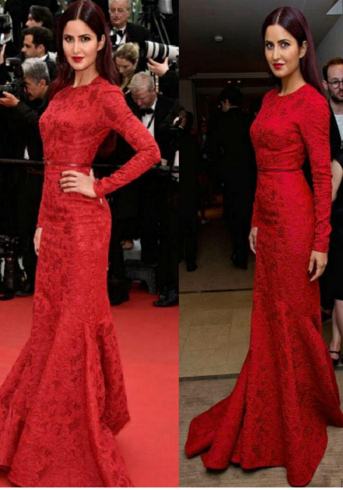 Katrina Kaif in red