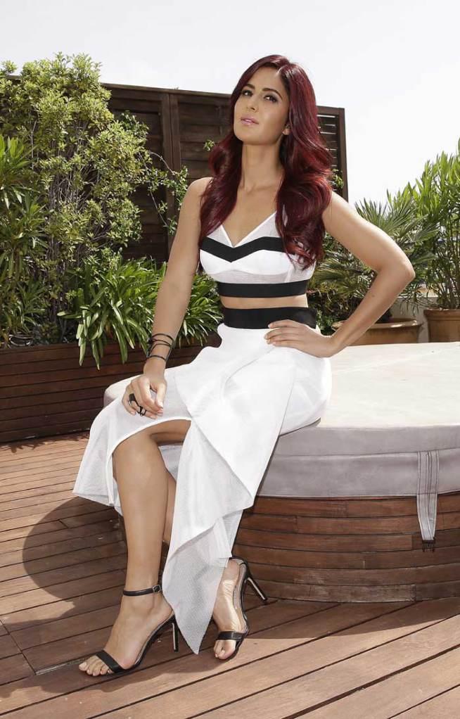 Katrina Kaif in monochromatic