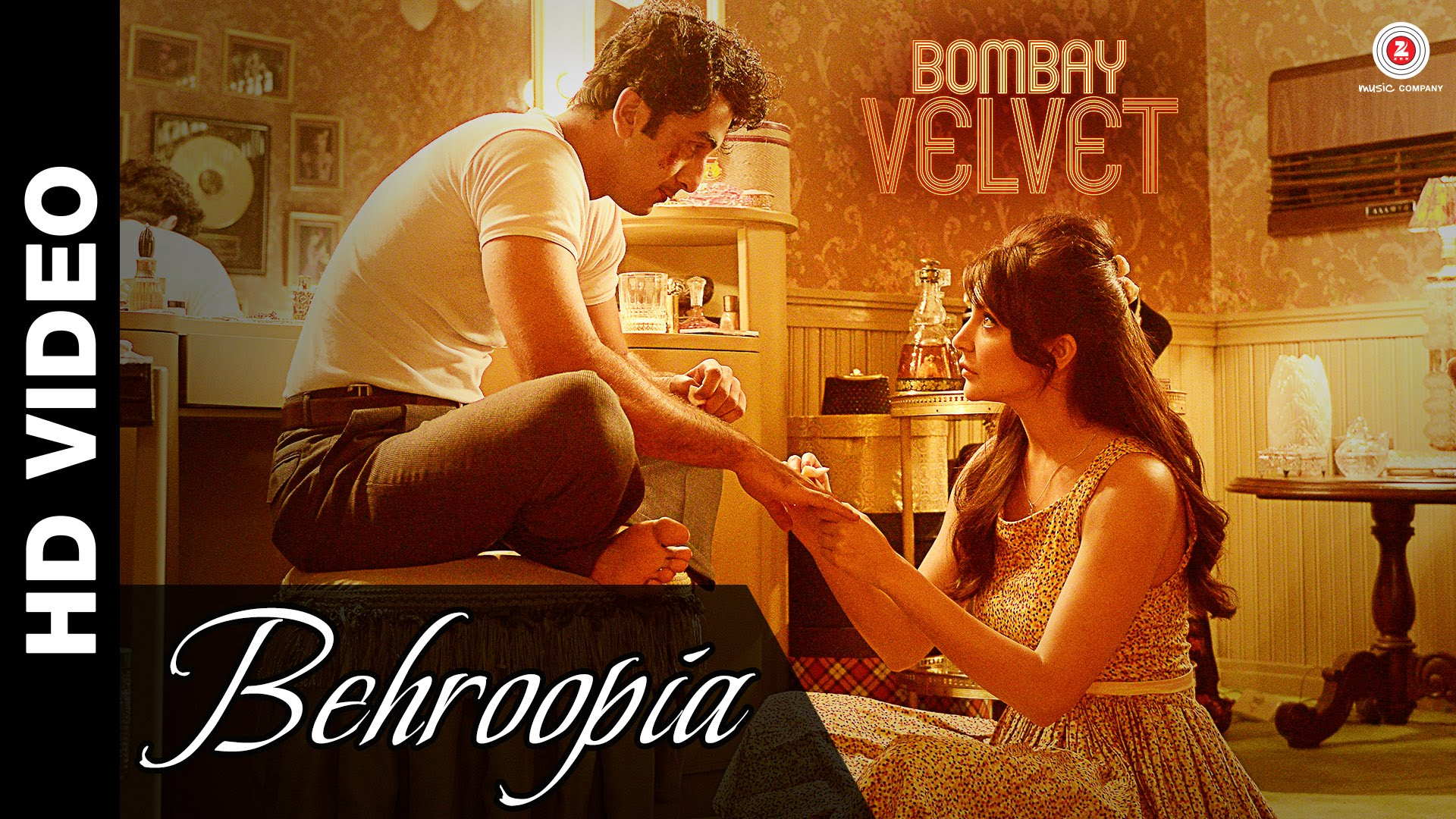 Watch: 'Behroopia' song from 'Bombay Velvet'