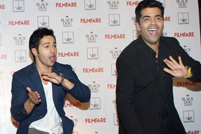 Varun Dhawan dedicates 'Happy birthday' song to Karan Johar