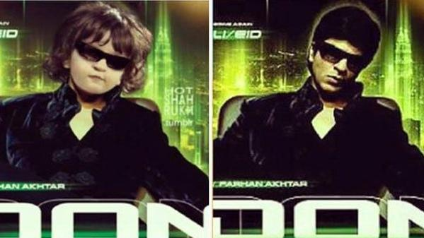 AbRam Khan in Don Movie Poster