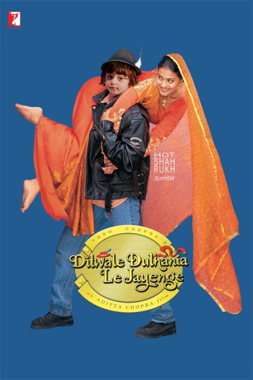 AbRam Khan in DDLJ Movie Poster