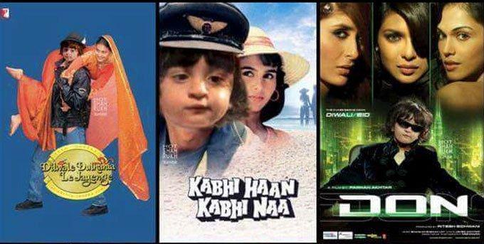 These fan-made posters of AbRam Khan in SRK's films will make your day!