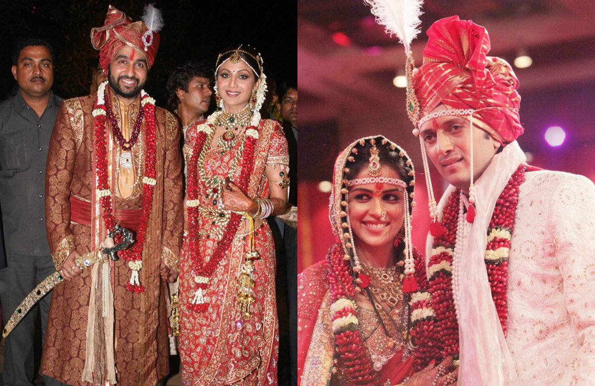 Bollywood Brides and their Stunning Wedding Day Look