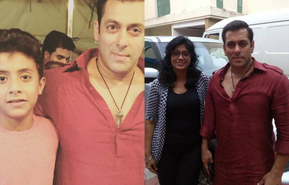 Exclusive Pictures - Salman Khan shoots Special Eid Song for Bajrangi Bhaijaan