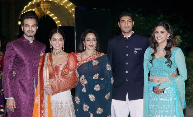 Hema Malini has become a grandmother now