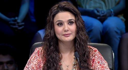 Preity Zinta gets 'emotional' on 'Nach Baliye 7' set
