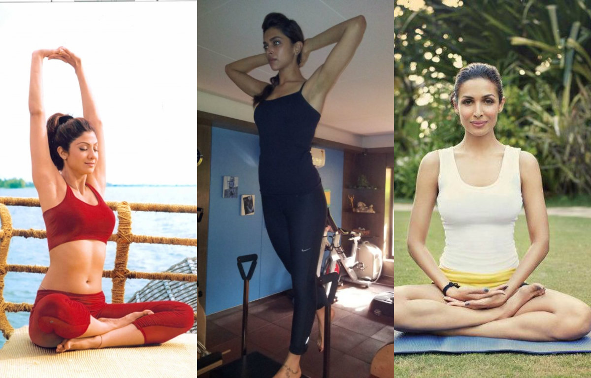 Bollywood Actresses who Practice Yoga Regularly to be Fit and Healthy