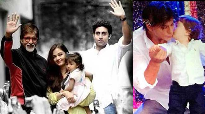 Father's Day Special - Bollywood Superstars with Their Children