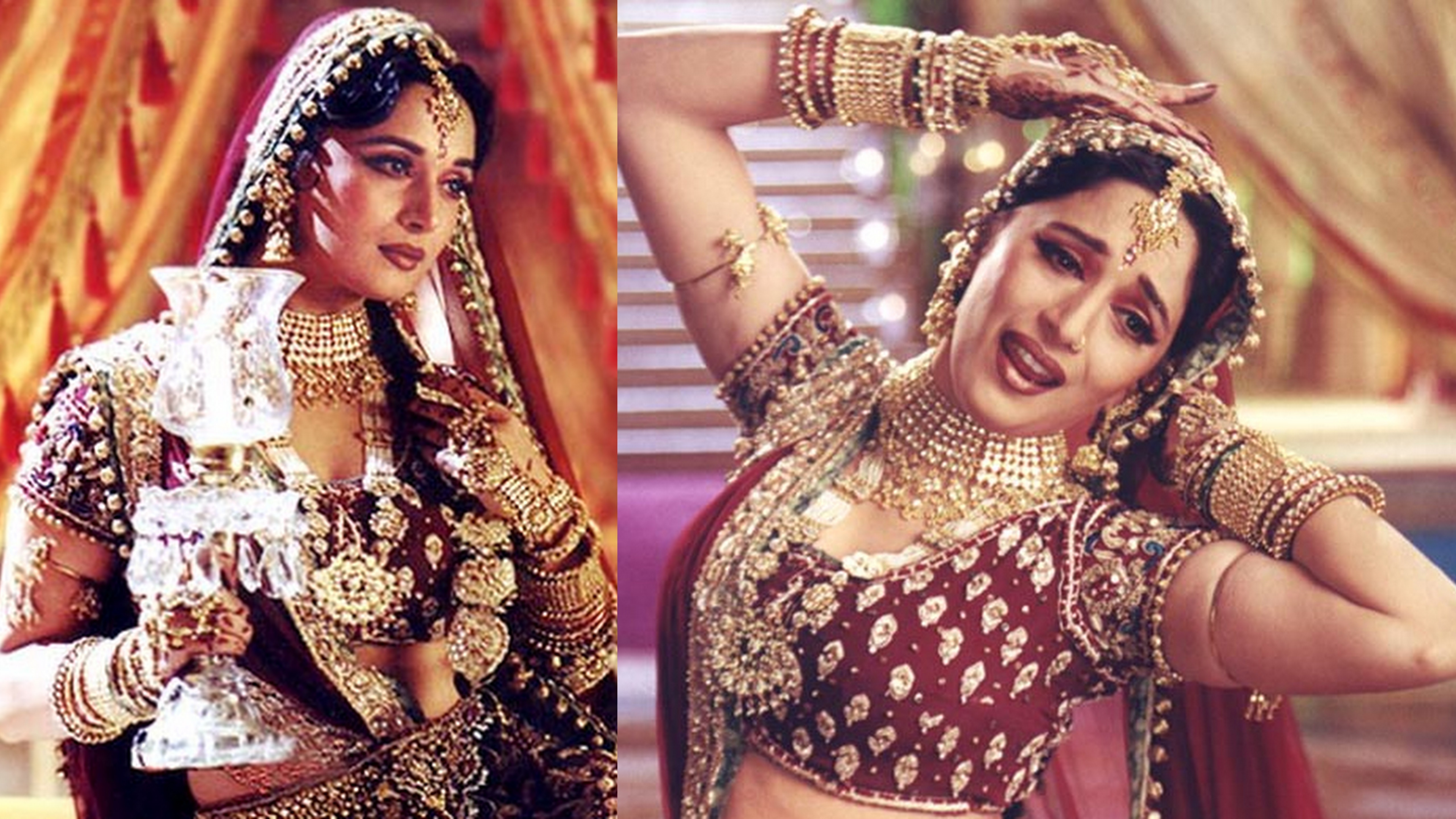 Heaviest Costumes Worn By Indian Celebrities  Bollywood Bubble-8864