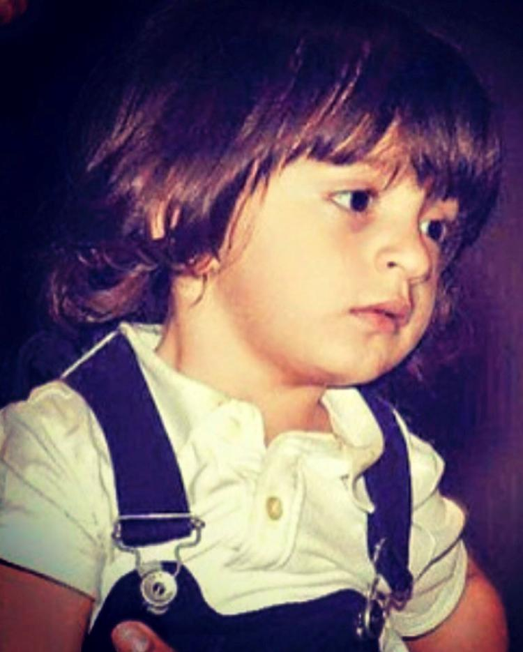 AbRam Khan looking cute
