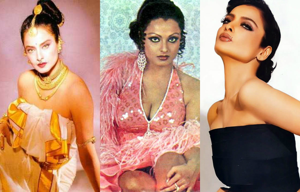 11 sizzling pictures which prove that Rekha is Bollywood's eternal glamour queen