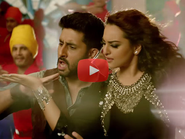 All Is Well: Watch Sonakshi Sinha's sizzling moves in 'Nachan farrate'