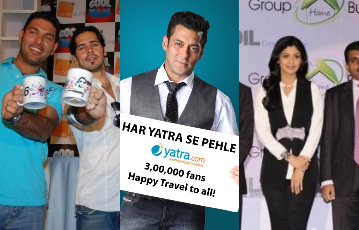 Bollywood Celebrities and their investment in Startups