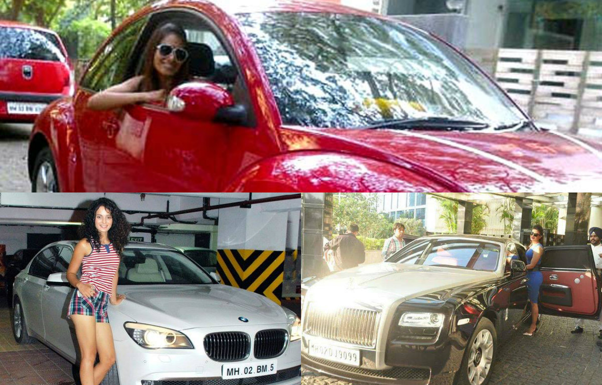 Bollywood actresses and their stylish Cars