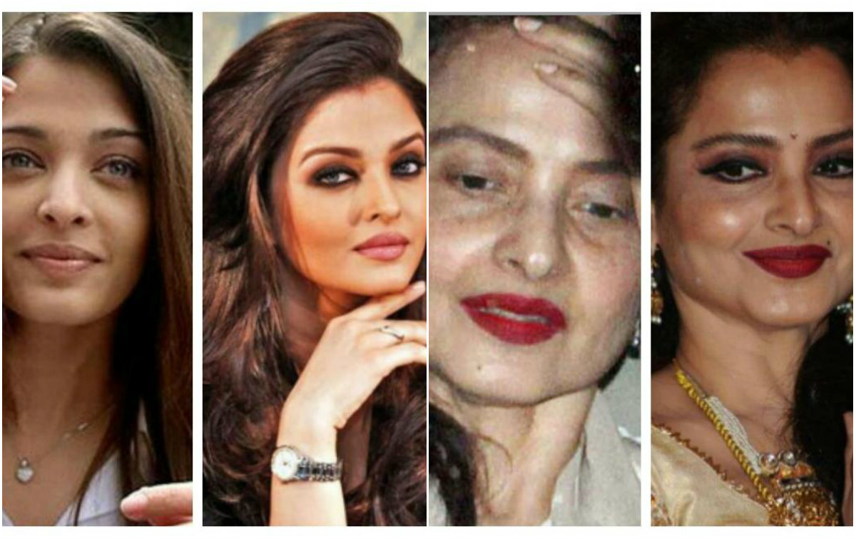 Pictures that show Bollywood celebrities actually look like us