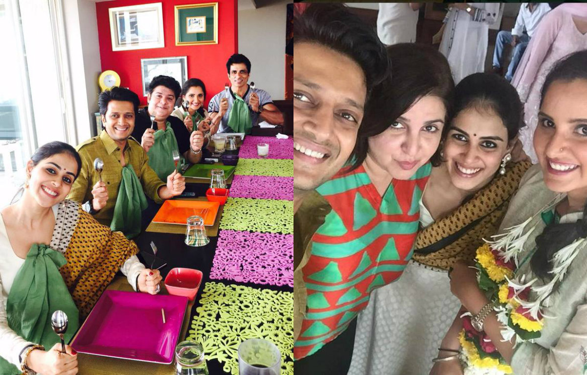 Inside Pictures - Farah Khan's Eid Lunch get together with close friends