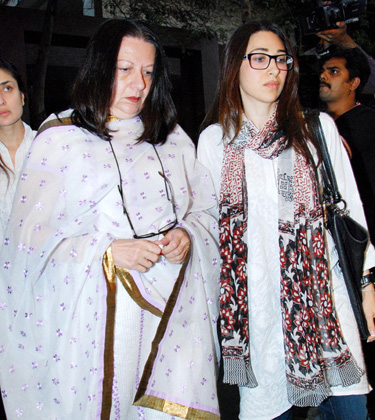 Karishma Kapoor and Babita