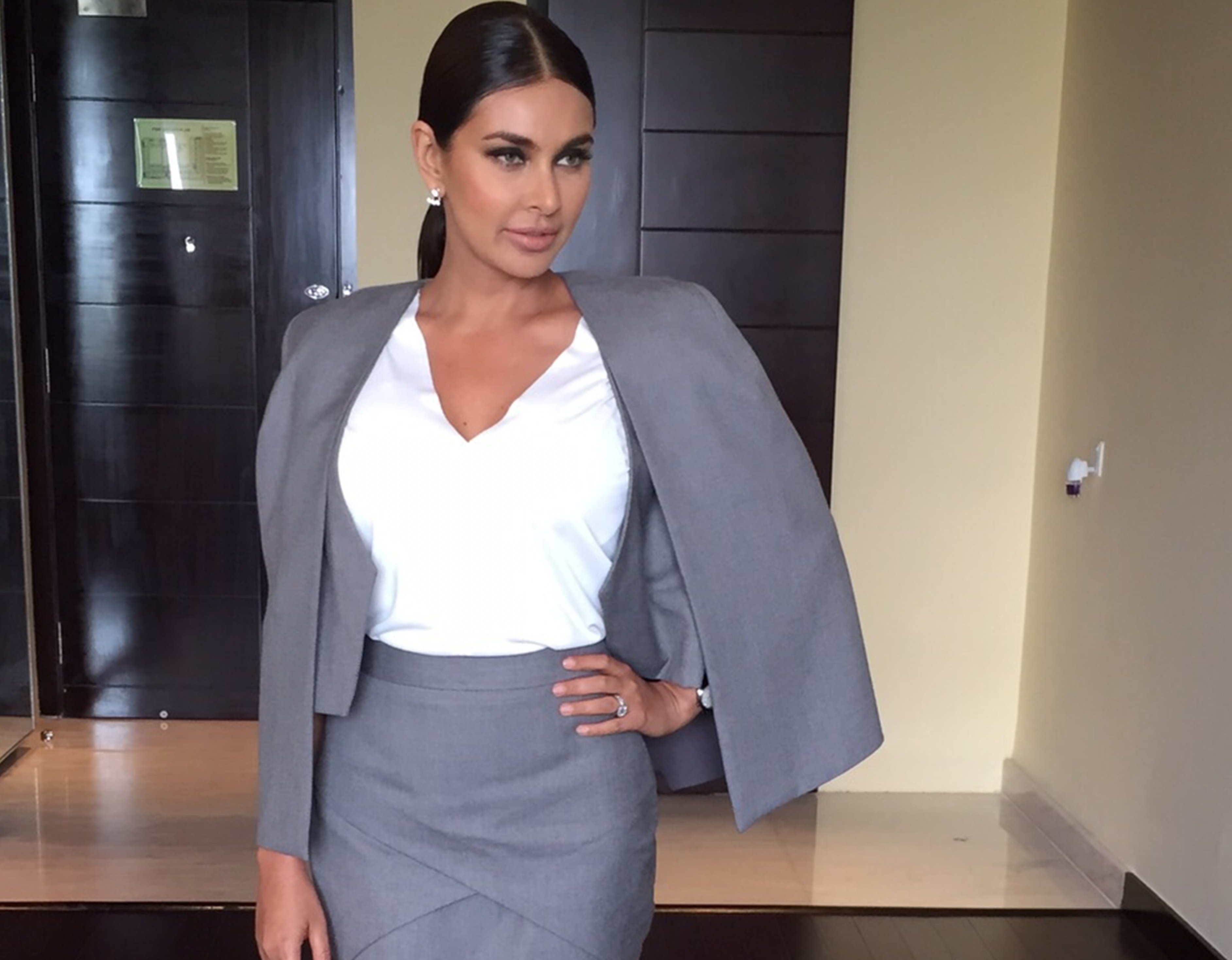 Lisa Ray spotted at a Rado Event