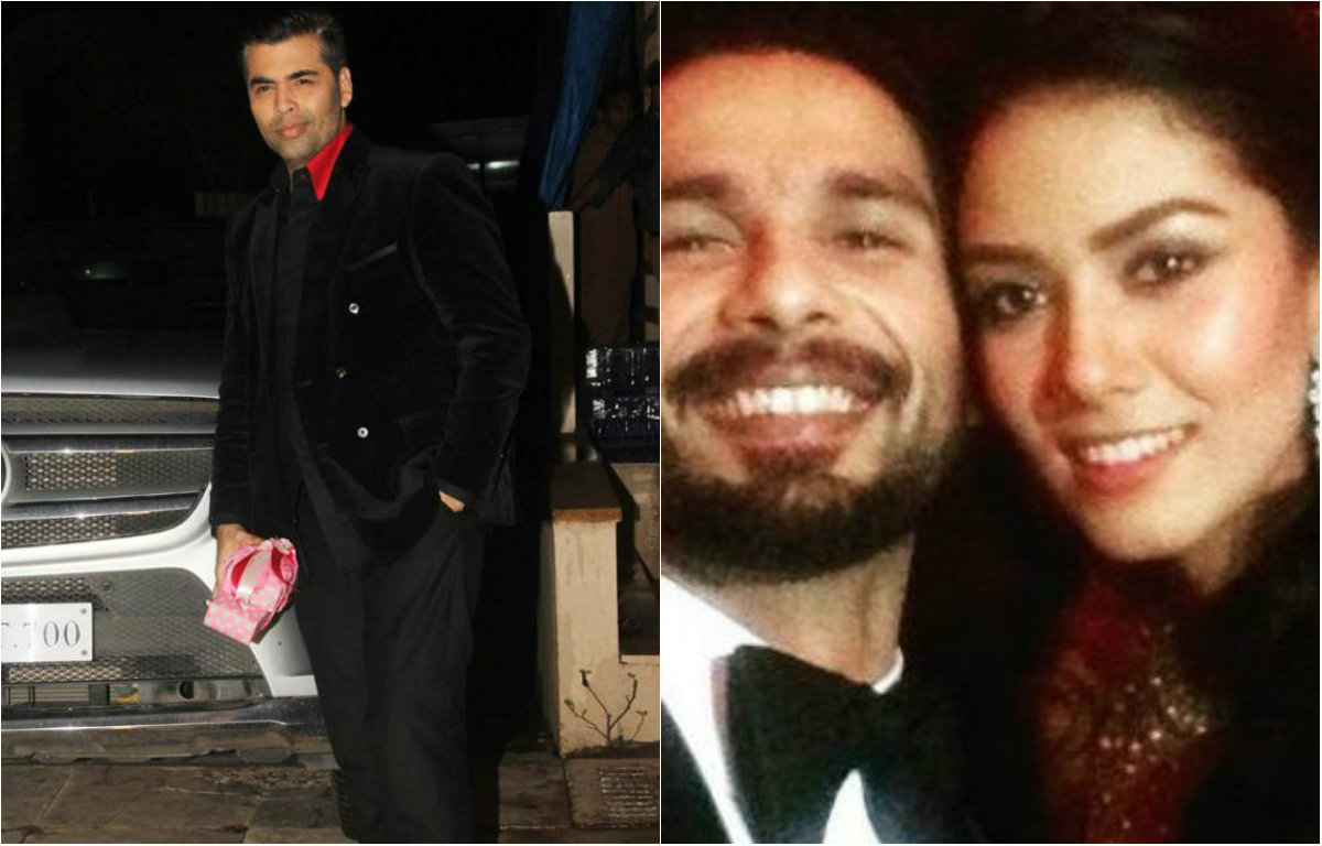 Pictures - Shahid Kapoor - Mira Rajput host Party for friends