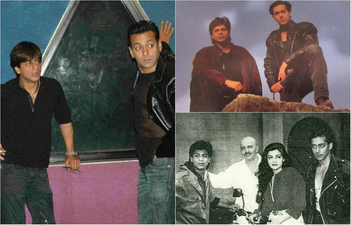 Rare and unseen pictures of Salman Khan and Shah Rukh Khan
