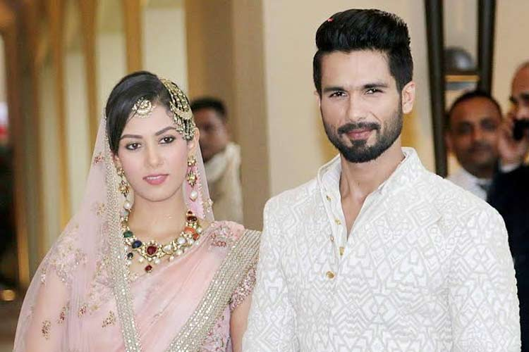 Shahid Kapoor thanks fans, friends for wedding wishes