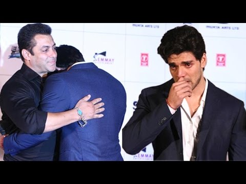 Sooraj Pancholi cried at 'Hero' press conference