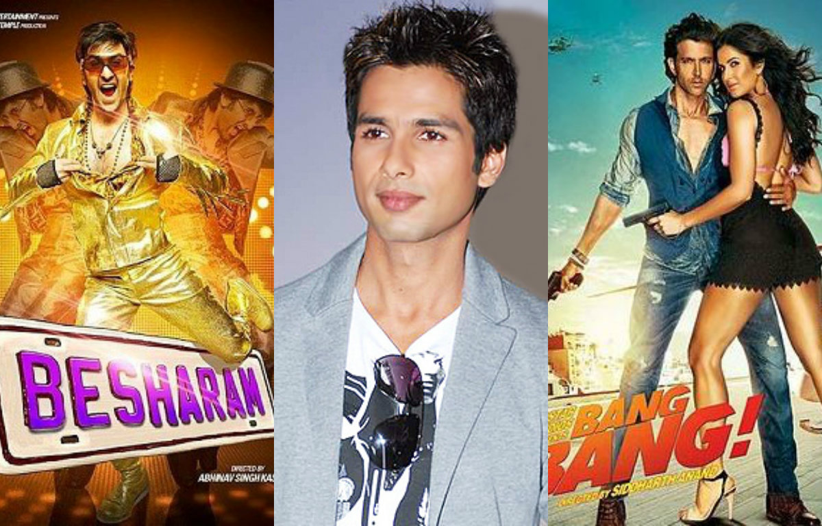 Top 7 Movies you won't believe that were rejected by Shahid Kapoor