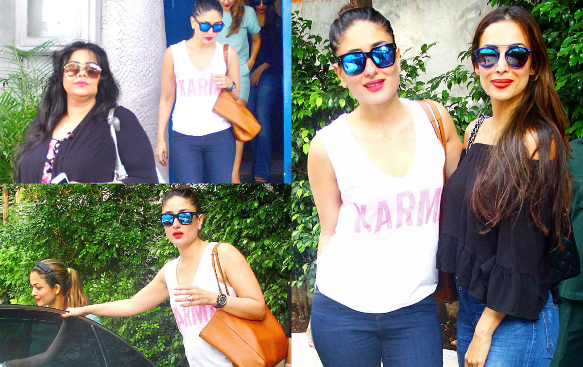 Kareena Kapoor Khan on a brunch date with her BFF's