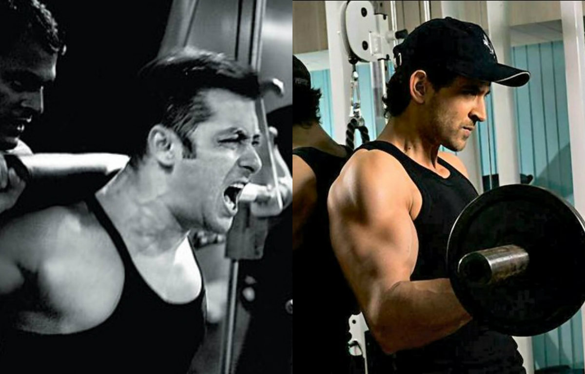 In Pictures - Bollywood Actors working out in gym