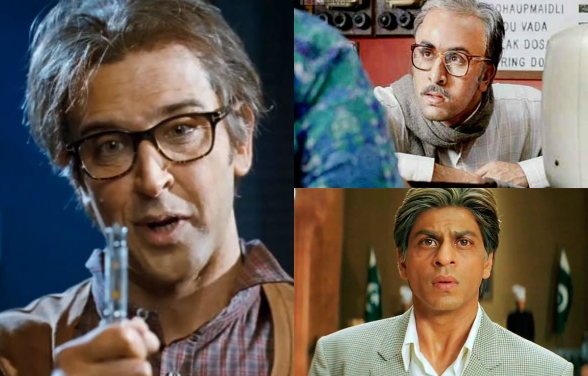 Bollywood actors who bravely played old character on screen