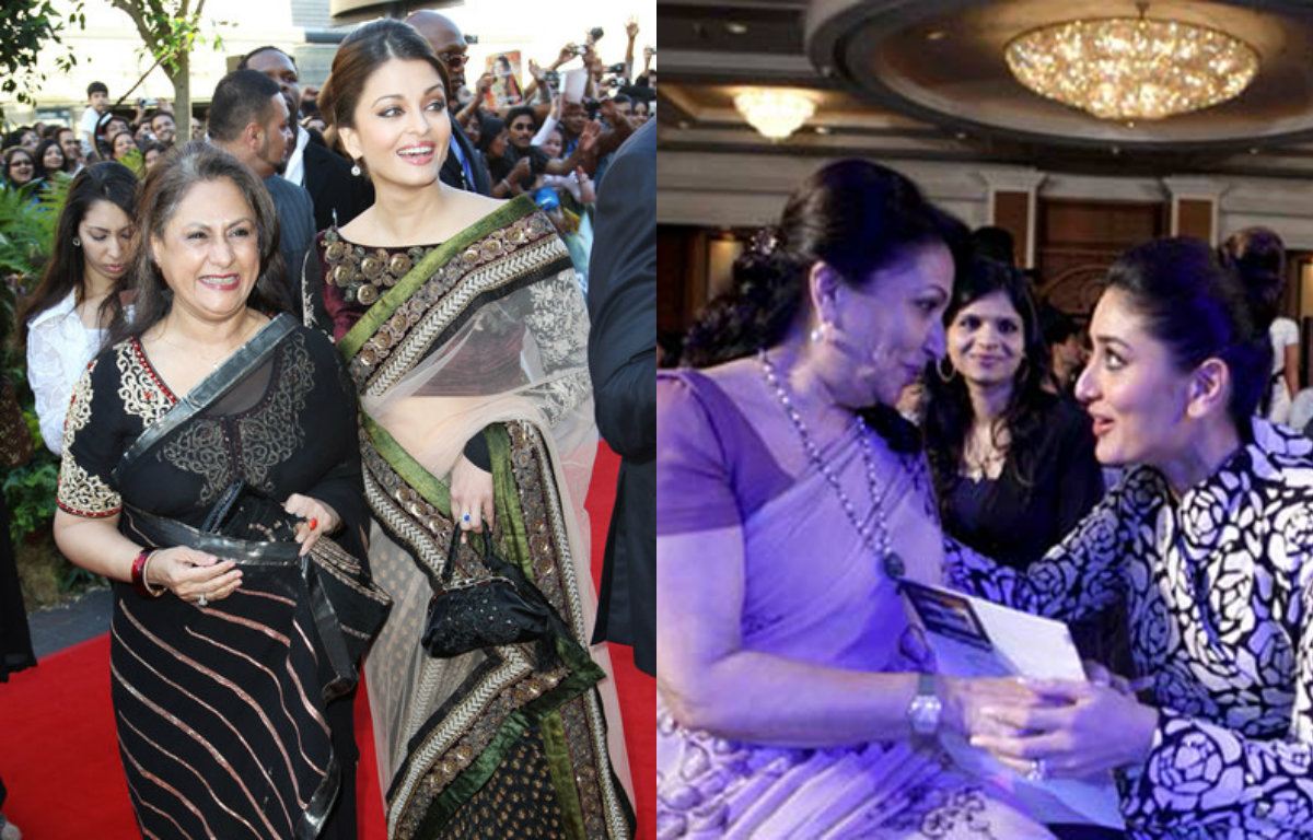 Rare pictures of Bollywood Celebrities with their Mother-in-law