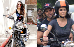 10 Bollywood Divas who love to ride on bike