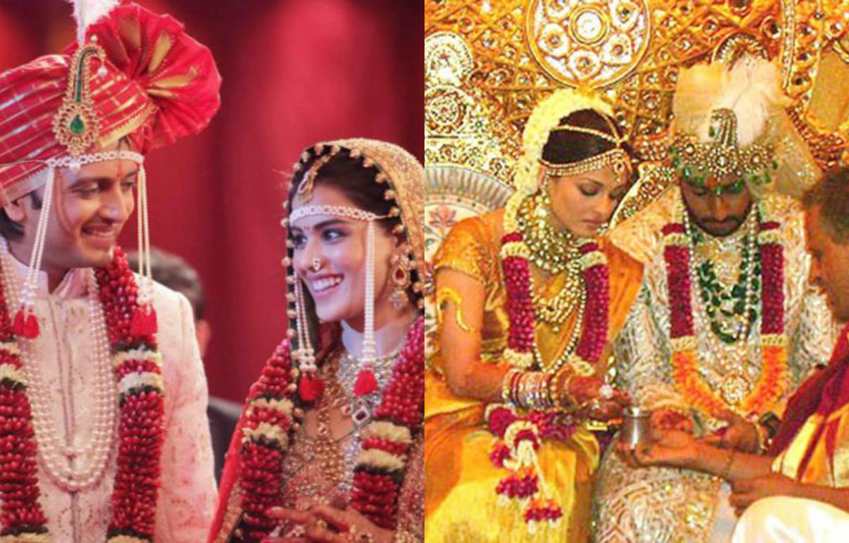 Extremely Beautiful Bollywood Brides on their Wedding Day