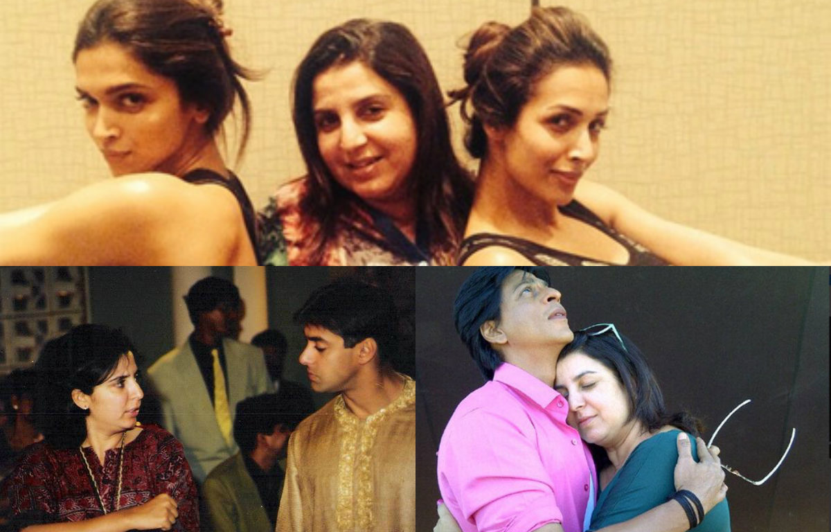 Farah Khan's rare pictures with her Bollywood friends