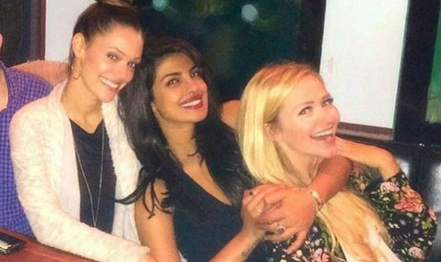Pictures - Priyanka Chopra on party mode with Quantico team