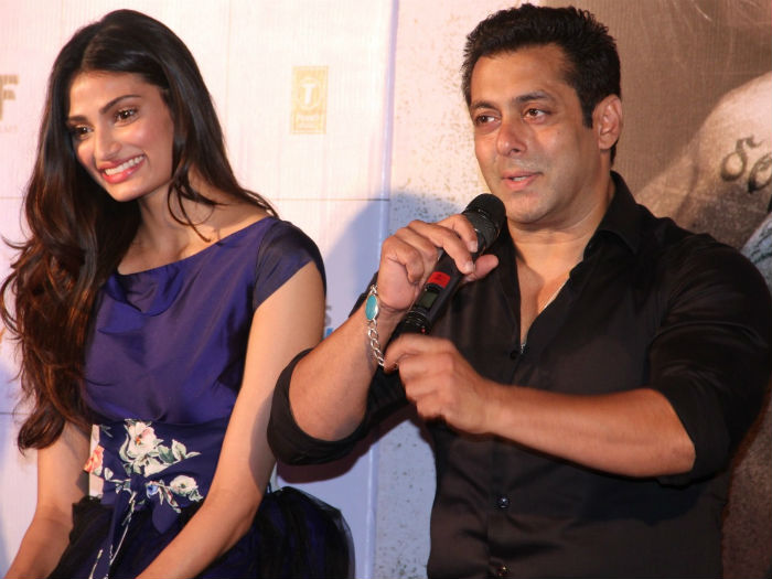 Athiya Shetty : Don't have words to thank Salman sir
