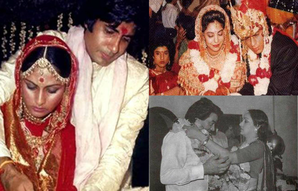 Pictures - When Bollywood actors tied the knot