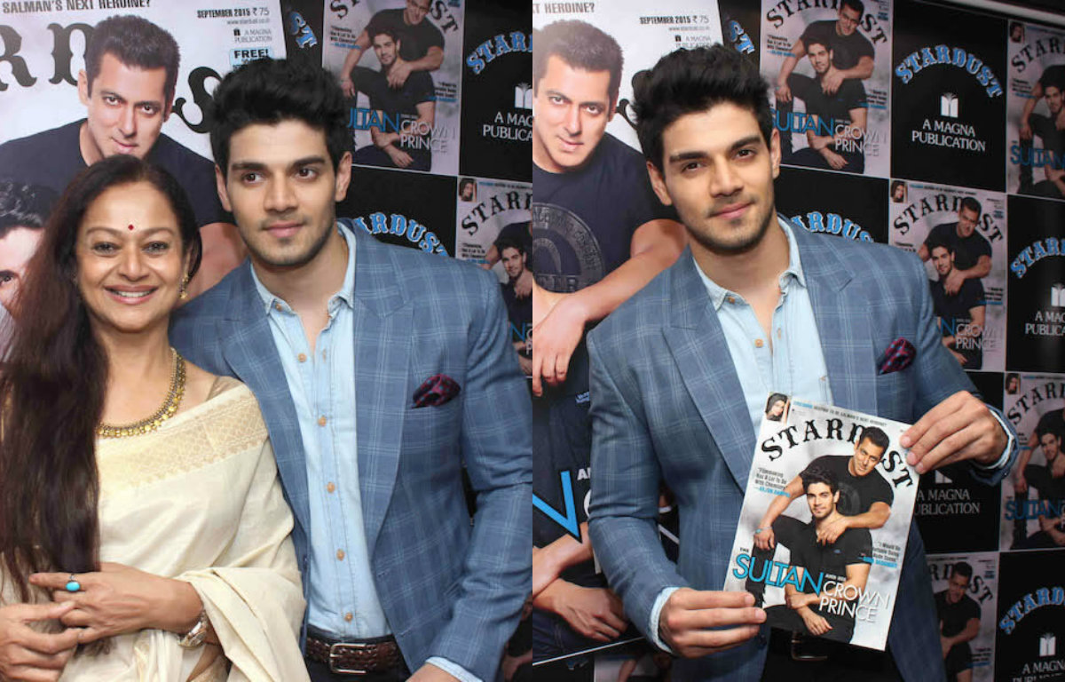 Sooraj Pancholi unveils latest Stardust issue with mom Zarina Wahab