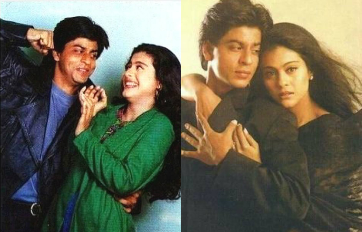 These Pictures of Shah Rukh Khan and Kajol show the electric chemistry between them