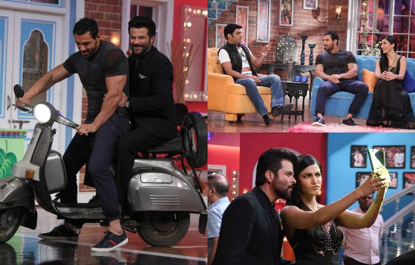 Welcome Back starcasts fun time on Comedy Nights with Kapil