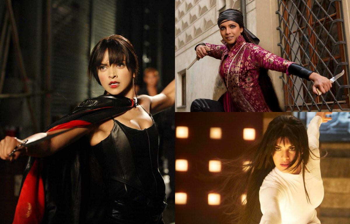 When these Bollywood actresses turned into action girls