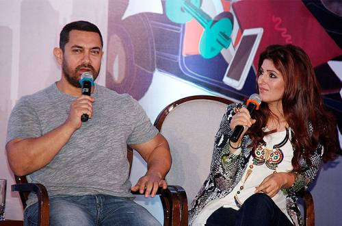 Twinkle Khanna expert at insulting people: Aamir Khan