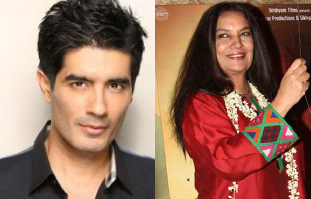 Manish Malhotra praises Shabana Azmi for promoting handlooms