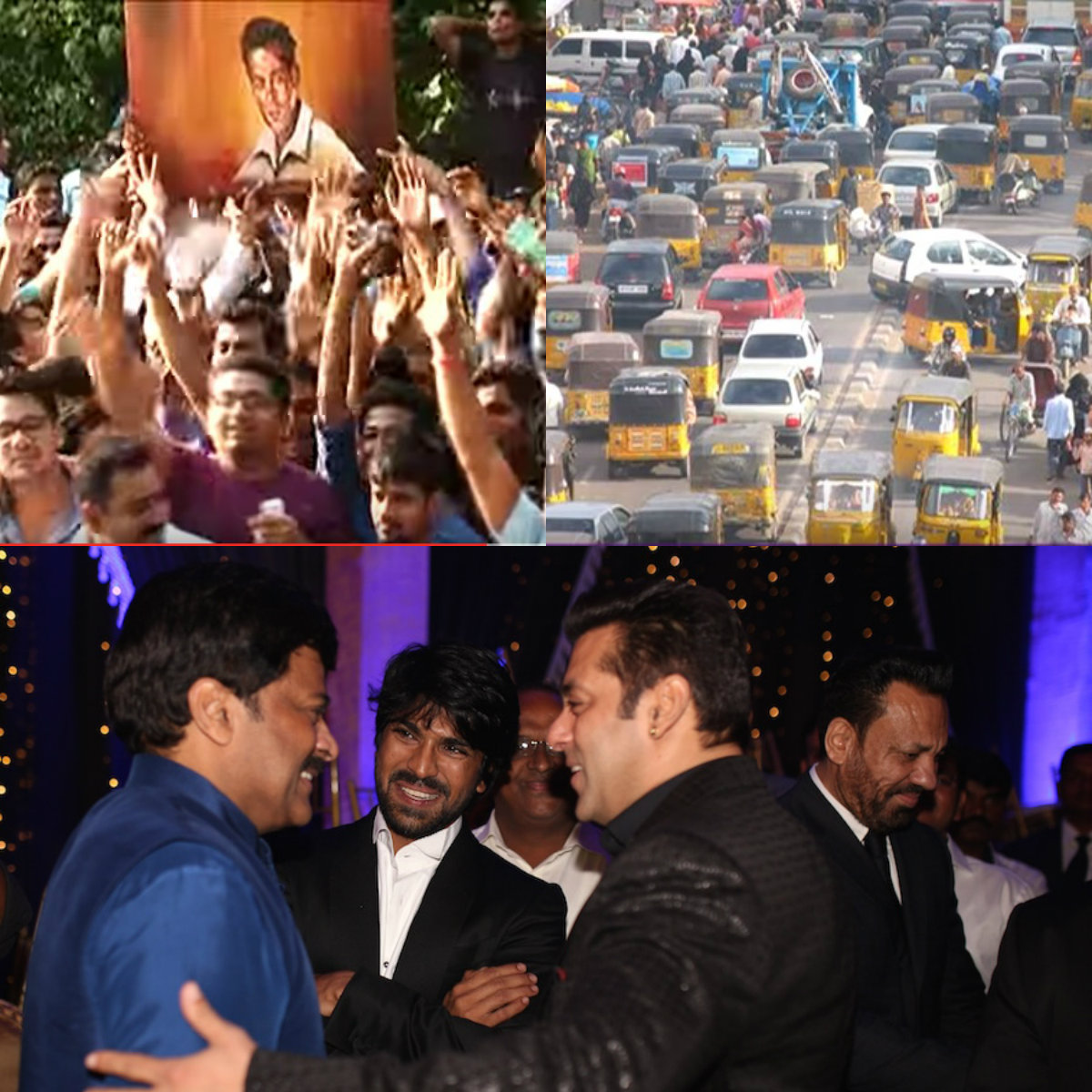 Salman Khan's presence causes Havoc in Hyderabad