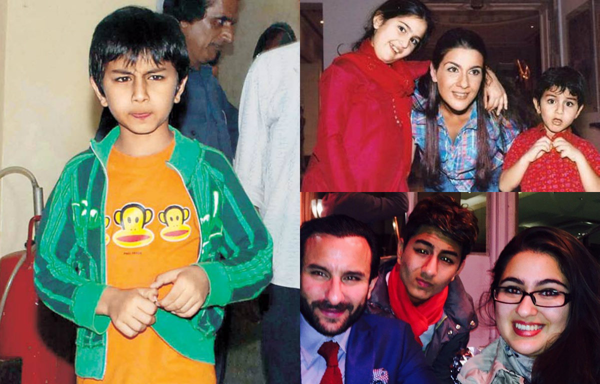 Rare and unseen pictures of Saif Ali Khan's son Ibrahim Ali Khan