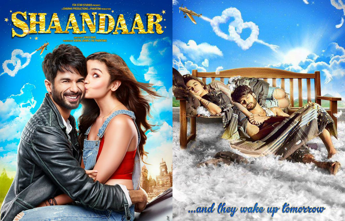 Check out: New poster of Shahid Kapoor - Alia Bhatt's 'Shaandaar'