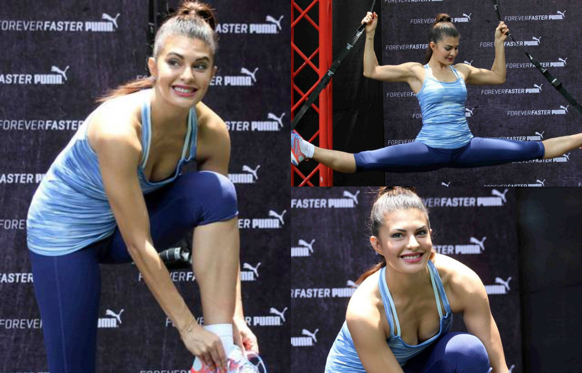 Check out these 10 astounding working out pictures of Jacqueline Fernandez