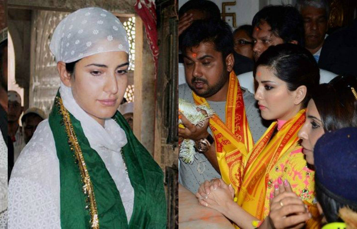 In pictures - Top Bollywood Actresses in spiritual looks