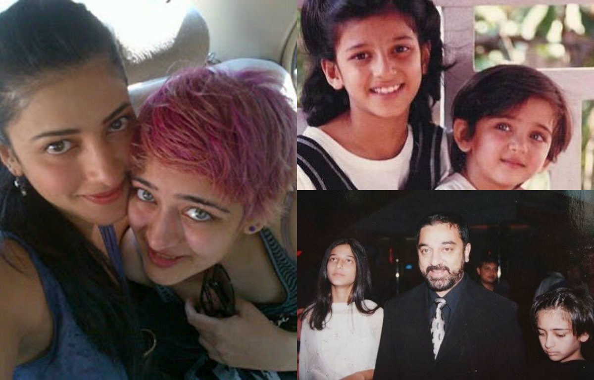 Rare and unseen pictures of Shruti Haasan